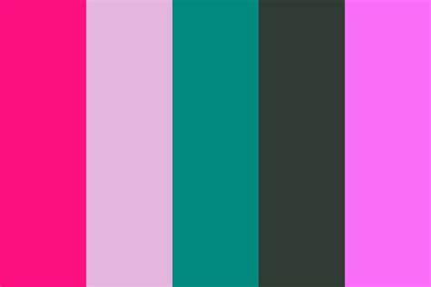 neon color palette pink neon color palette