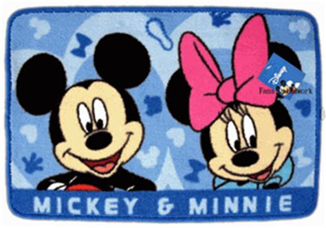 Mickey Mouse Kitchen Rug Disney Home Decor Area Carpet Mickey Mouse Rug Mat Blue Disney Home And Kitchen