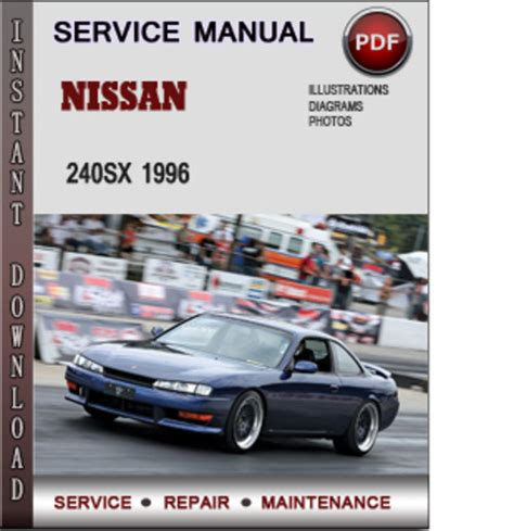 auto manual repair 1996 nissan 240sx on board diagnostic system nissan 240sx 1996 factory service repair manual pdf download manu