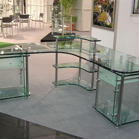 schreibtische glas glasm 246 bel glastechnik max pauliel gmbh