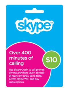 Skype Gift Card Promo Code - free 10 skype gift card