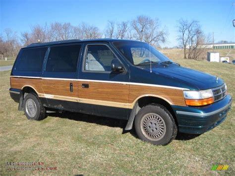 how cars run 1992 dodge caravan navigation system 1992 dodge grand caravan red 200 interior and exterior images
