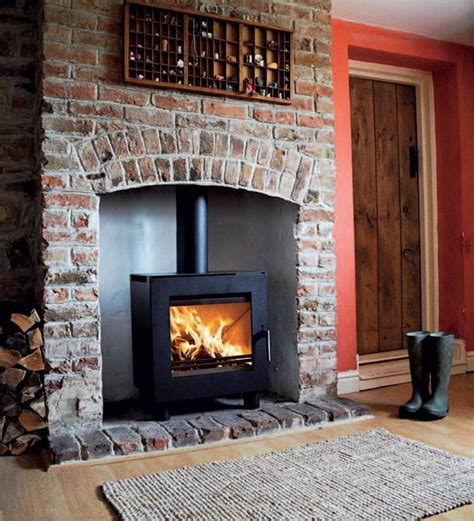 Brick Fireplaces For Wood Burning Stoves by Wood Burning Stoves Beautiful Wood Burning Stove Ideas