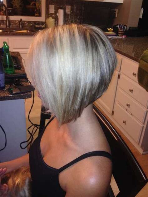 stacked bob haircut for women over 40 tagli medi e corti 2016 viste laterali e posteriori di bob