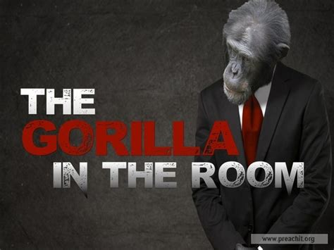 gorilla in the room sermon by topic the gorilla in the room