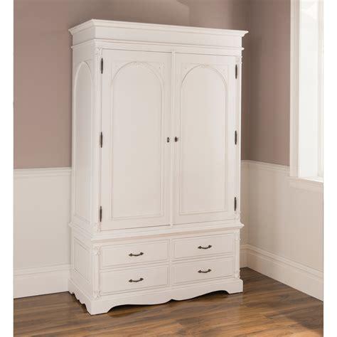 Style White Wardrobe by Antique Style Wardrobe