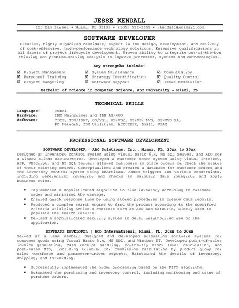 Software Engineer Resume by Resume Of Experienced Software Engineer Resume Ideas