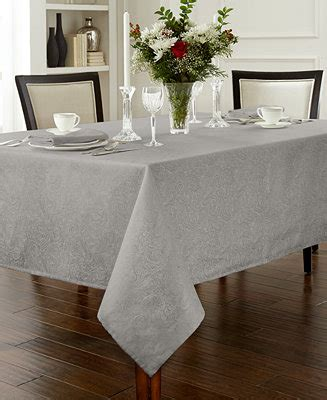 Dining Table Cloths Waterford Chelsea Table Linens Collection Table Linens Dining Entertaining Macy S