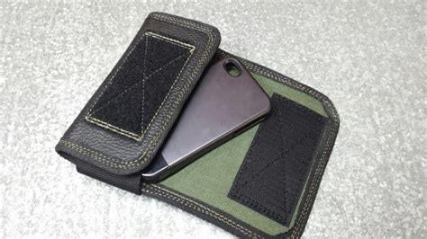 Handmade Leather Cell Phone Holsters - custom leather cell phone holster