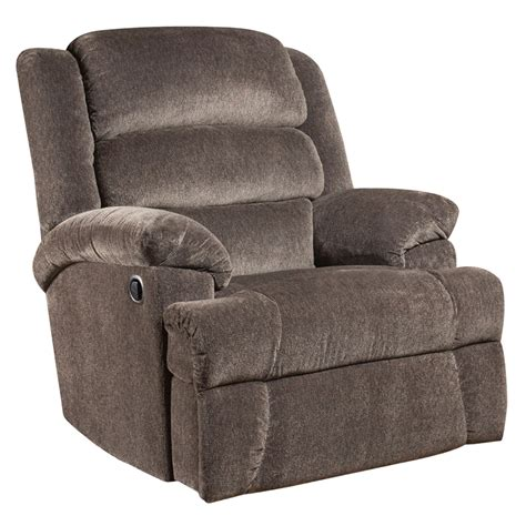 tall recliners big tall 350 lb capacity aynsley charcoal microfiber