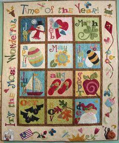 Calendar Quilts Calendar Quilt