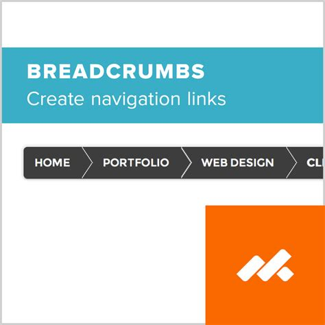 shopify themes breadcrumb breadcrumb navigation widget from adobe muse by musethemes