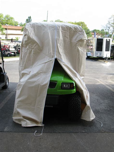 Golf Cart Storage Covers   Passshort Top Rear