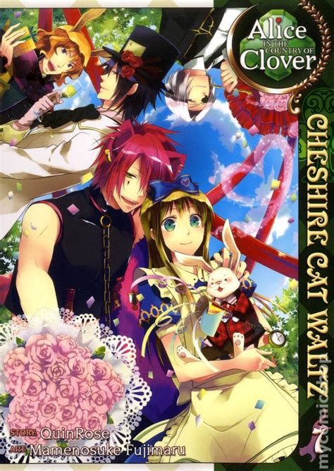 In The Country Of Clover Cheshire Cat Waltz Gn