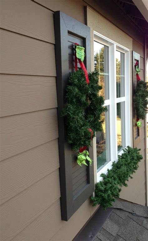 Outdoor Windows Decorating How To Decorate Exterior Windows For Outdoortheme
