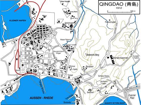 map of qingdao belagerung tsingtau wikiwand