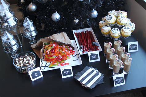 the nightmare before christmas dessert bar offbeat home