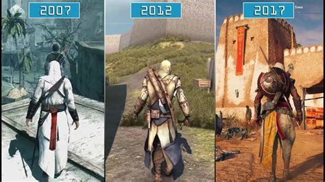 All Graphic all assassin s creed 2007 2017 graphics