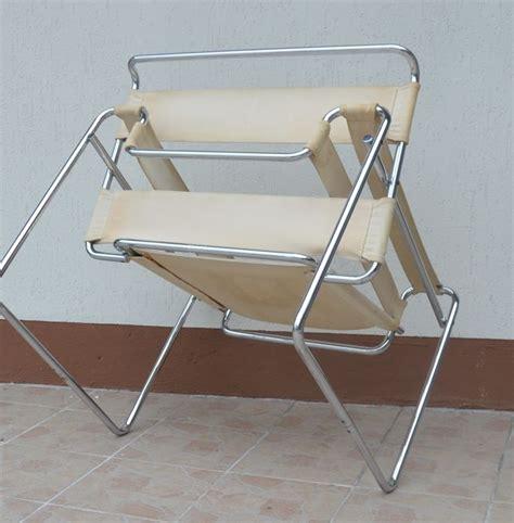 wassily chair gavina original marcel breuer for gavina wassily b3 vintage armchair