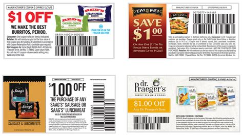 printable grocery coupons in california hot frozen foods printable coupons norcal coupon gal