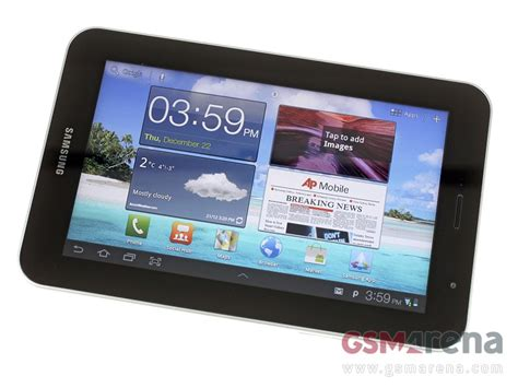 samsung p6200 galaxy tab 7 0 plus pictures official photos