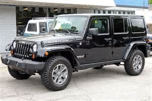 2013 jeep wrangler unlimited rubicon black
