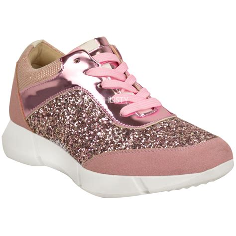 fashion sneakers womens glitter trainers sneakers fashion casual