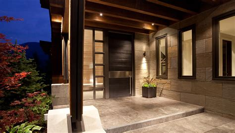 Home Entrance Design Luxury House With A Modern Contemporary Interior Digsdigs