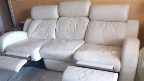 sillon jardin reclinable blanco tabl 211 n de anuncios sofa reclinable y sillon en piel