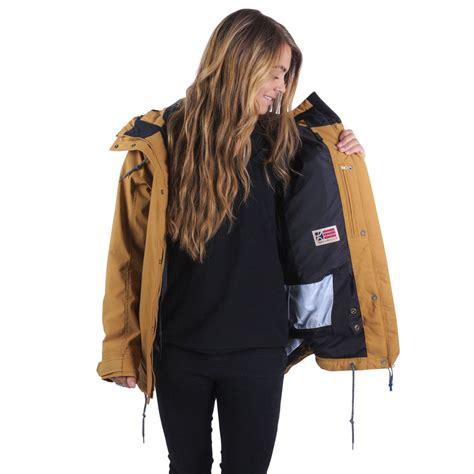 holden jacket holden hana womens snowboard jacket camel