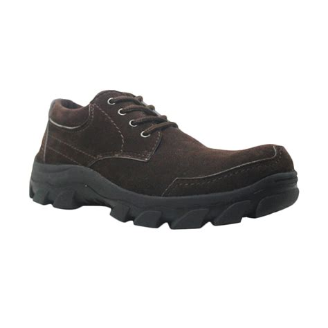 Cut Engineer Safety Shoes Low Boots Classic Cokelat 1 jual d island shoes cut engineer safety shoes low boots top cokelat sepatu pria harga