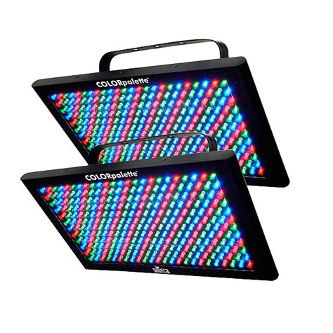 chauvet color palette chauvet colorpalette led lighting pair reverb