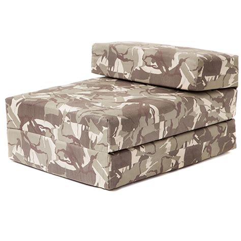 camo futon camouflage design boys bedroom chair beds single or double