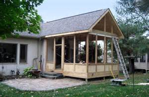 Sunroom Blueprints Screened Porches Columbus Ohio Custom Built Screen Rooms
