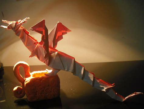 How To Make An Origami Fiery - origami fiery by zinnia1993 on deviantart