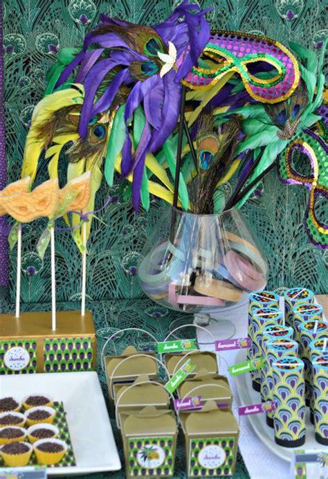 party themes rio carnival kara s party ideas brazilian carnival peacock girl boy