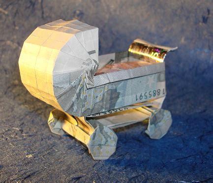origami carriage origami geldscheine und b 252 cher gefaltet und entworfen