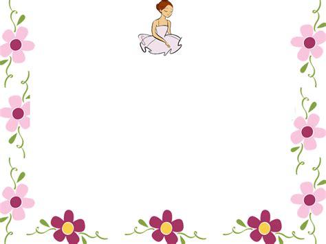 flower border template flower border background powerpoint backgrounds for free