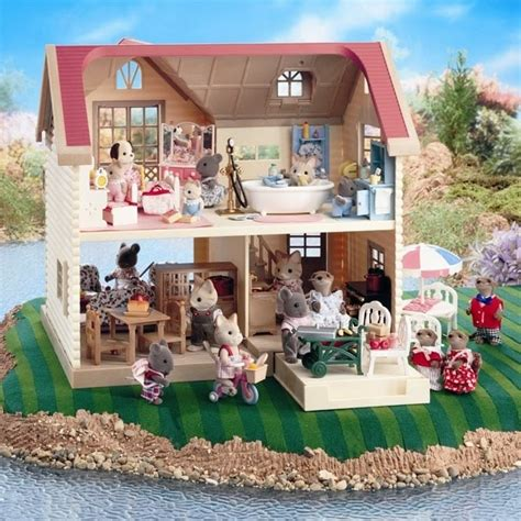 sylvanian families dolls house sylvanian doll families dollhouse sylvania families pinterest memories family