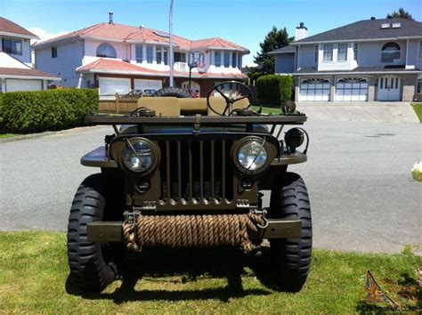 Willys Jeep Canada Willys M38