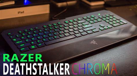Razer Deathstalker Essential Deathadder Chroma razer deathstalker chroma rgb gaming keyboard unboxing