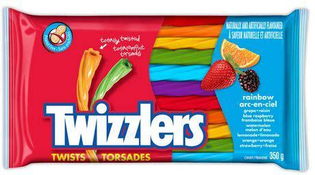 twizzlers® twists rainbow candy | walmart canada