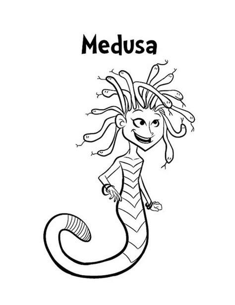 medusa coloring pages medusa coloring pages