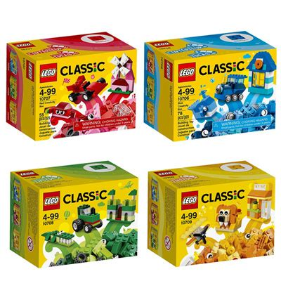 Termurah Lego Classic Creativity Box 10707 qoo10 lego classic 10706 10707 10708 10709 creativity