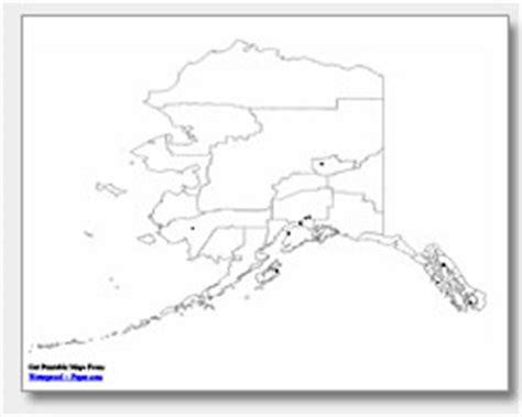 printable map alaska pics for gt alaska map blank