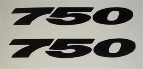 Suzuki Gsxr 750 Decals Suzuki Gsxr 750 Sticker Decal 2 Ebay