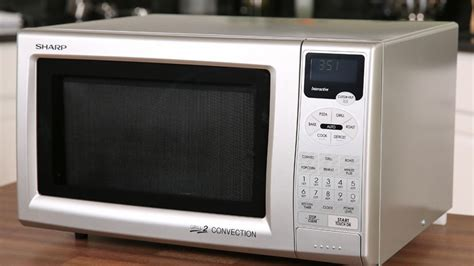 Microwave Oven Gril sharp r 820js convection grill microwave oven review cnet