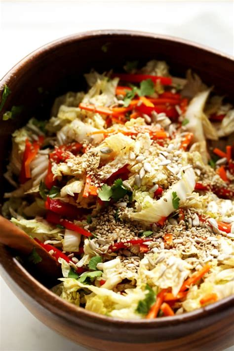 napa salad napa cabbage salad