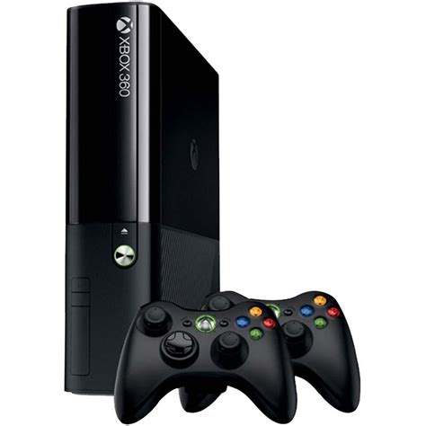 console xbox console xbox 360 4gb 2 controles wireless consoles