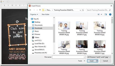 design template pada powerpoint digunakan untuk cara membuat presentasi powerpoint dengan cepat